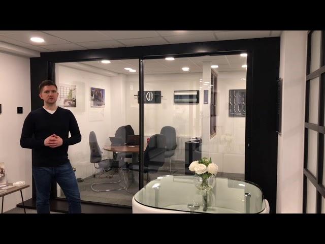 Cherwell Windows showroom tour - InfiniGlide3 Sliding door