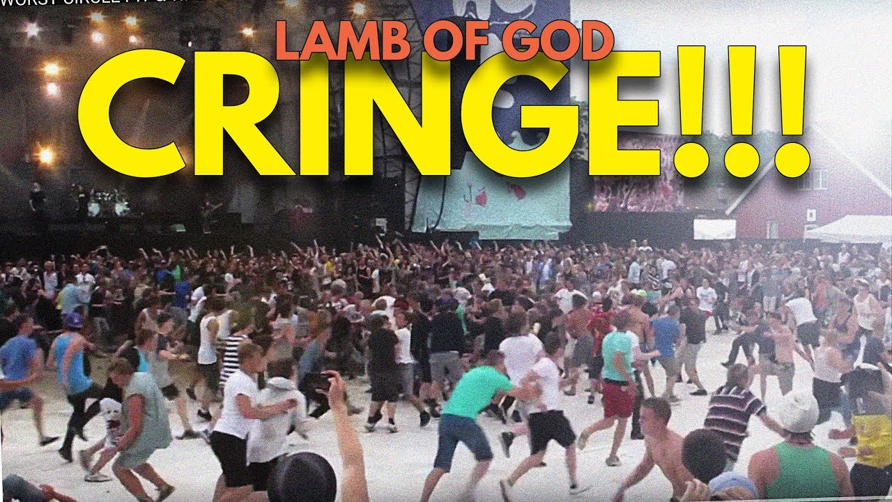 lamb of god wall of death - photo #1
