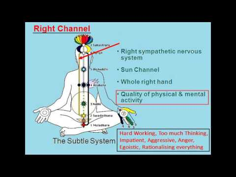 Sahaja Yoga Chakra Chart Introduction Youtube
