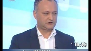 Igor Dodon si homofobia rusofililor in Moldova