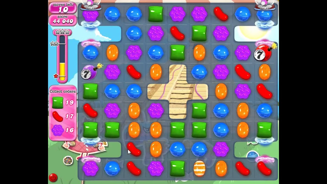 how to play candy crush saga game level 33
