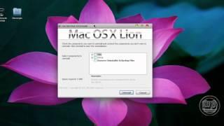 Como Desinstalar y Configurar Mac OS X Lion Skin Pack para Windows 7