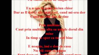 Flavius feat Lora - Prin multime Versuri (Lyrics)