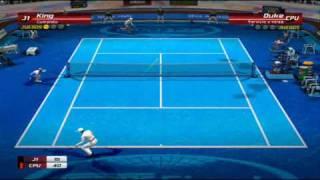 Virtua Tennis 3 - King vs Duke - Very Hard