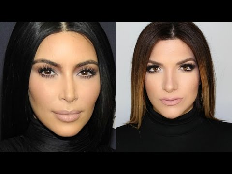 Kim Kardashian BET Honors Makeup Inspired by Mario Dedivanovic