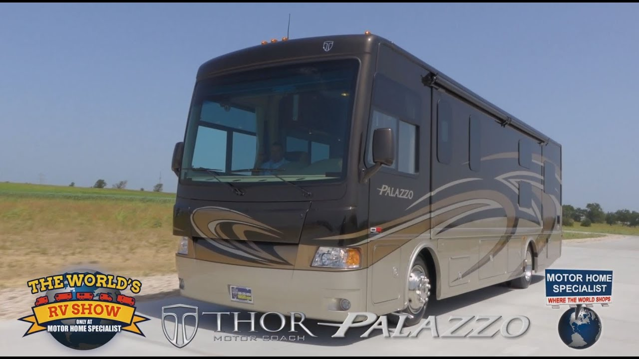 Thor motor coach palazzo review at motor home specialist Thor motor coaches