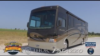 Thor Motor Coach Palazzo Review at Motor Home Specialist 2014 2015