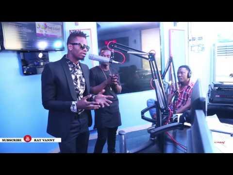 RAYVANNY - KWETU Radio Tour CLOUDS FM Pt 1