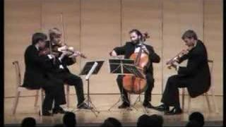 "Dvorak: String Quartet  Op. 96 ""American"" 4th movement"