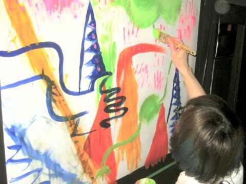 タカハシヒロユキlive paint@TELEXISTENCE