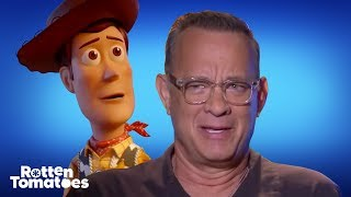 'Toy Story 4' Star Tom Hanks Gets Just As Emotional Over Woody & Buzz As You Do | Rotten Tomatoes