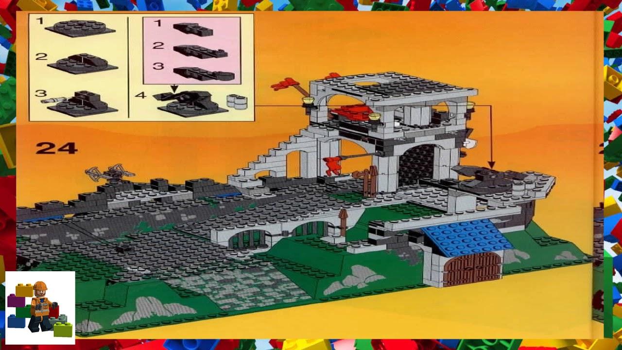 Lego Instructions Castle Royal Knights 6090 Royal Knights