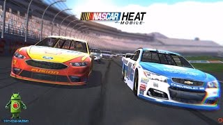 NASCAR Heat Mobile Gameplay - iOS / Android Game Video