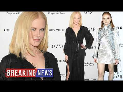 HOT NEWS Nicole Kidman and Sophie Turner don leggy looks for event | Daily Mail Online