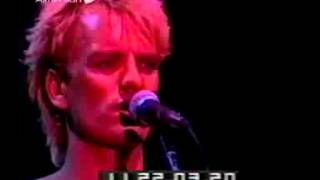 Every Breath You Take The Police live  Oakland 1983