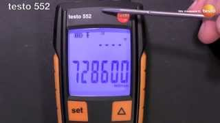 testo 552 Digital Vacuum Gauge - Evacuates Heat Pumps, A/C and Refrigeration Systems