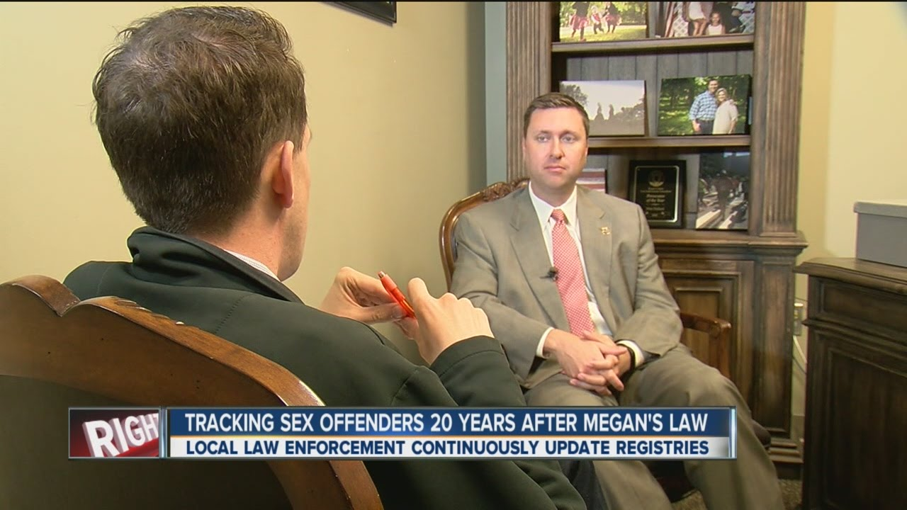 Laws on tracking sex offenders