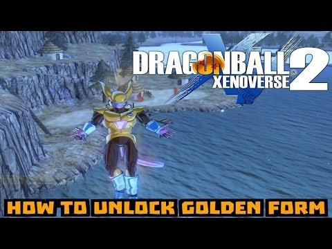 How To Unlock Golden Form: (Frieza Race): Dragon Ball Xenoverse 2