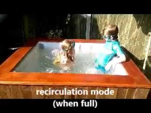 How to build a DIY Hillbilly IBC hot tub project