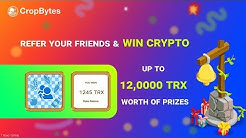 CropBytes | Play & Earn Bitcoin for free