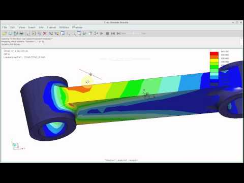 Creo 3.0 Analysis Tutorial Conecting Road ( Creo, Pro E, Creo2.0, Design, Mechanical Design )