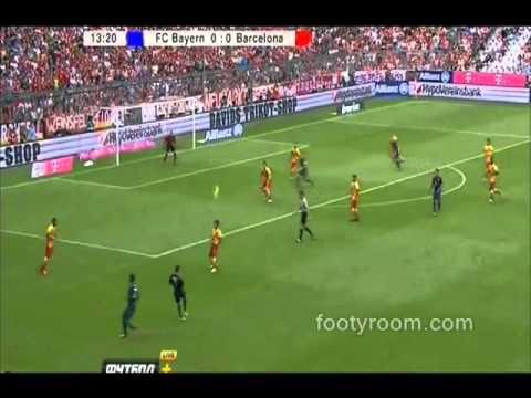 Video Cuplikan Gol Bayern Munchen vs Barcelona 2-0 Audi Cup 24 Juli 2013
