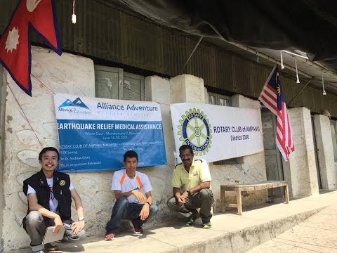Nepal Earthquake Medical Mission: A RCA Humanity Project