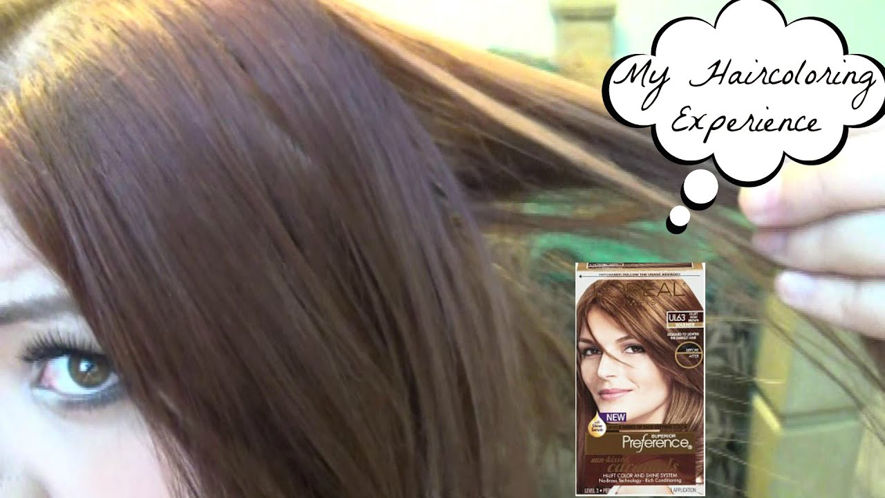 Coloring My Hair With Loreal Sun Kissed Caramels Review