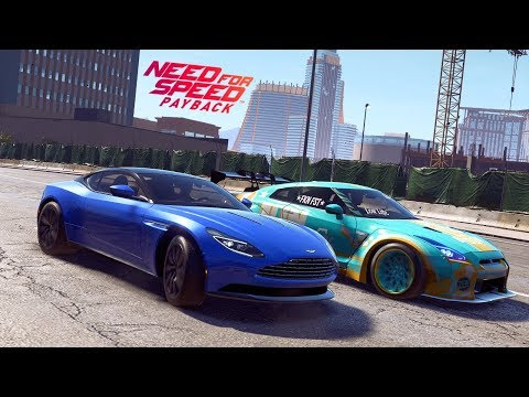Need For Speed Payback | Defeating Jesse Wellens (E3 Fail) in a stock Aston Martin DB11 (Veteran)