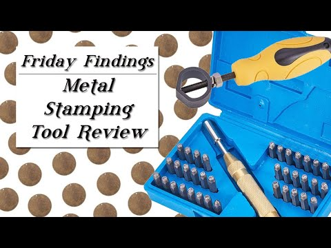 Metal Stamping Tool Review-Friday Findings