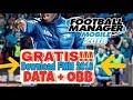 Cara Download Football Manager Mobile 2018 Gratis APK+OBB