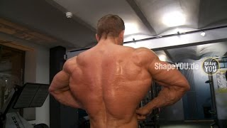 Ryan Terry Back Workout - Day 1 HEART OF A CHAMPION w/ Felix Valentino