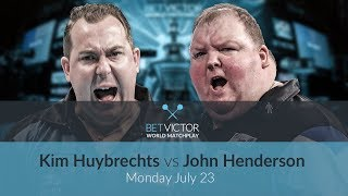 Kim Huybrechts vs John Henderson | BetVictor World Matchplay Preview Show | Darts 🎯