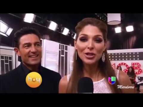 """Fernando Colunga  y Blanca  Soto en """"Mira quien Baila""""  en el año 2013"""
