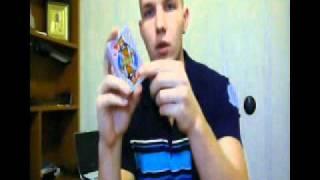 Запоминание колоды карт (52 карты) за 70 секунд