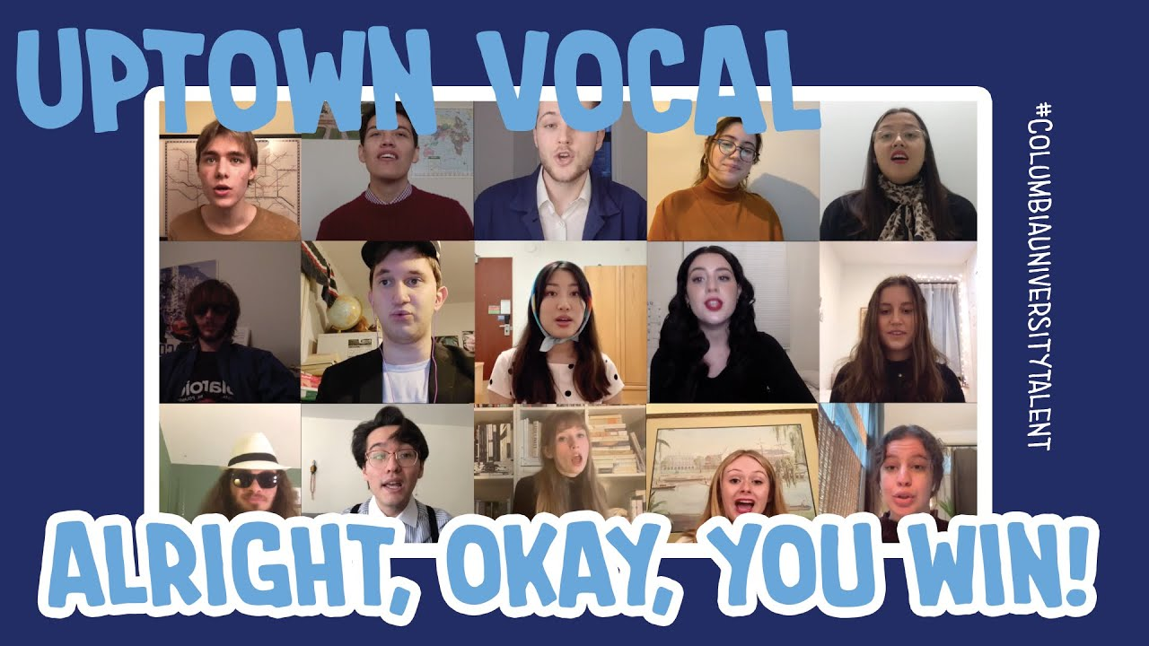 Uptown Vocal's Take on the Swingy Classic 'Alright, Okay, You Win'