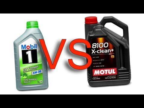 mobil 1 esp formula 5w30 vs motul 8100 x clean 5w30 youtube. Black Bedroom Furniture Sets. Home Design Ideas
