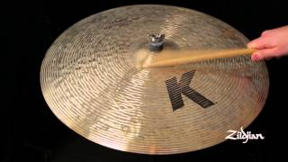 "Zildjian Sound Lab - 22"" K Custom High Def Ride"
