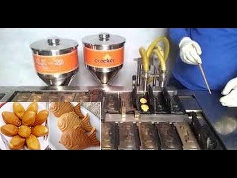 Máy làm bánh bắp Hàn quốc