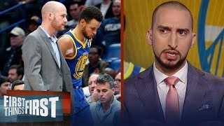 Are the Warriors still the best team in the NBA without Steph Curry? | FIRST THINGS FIRST
