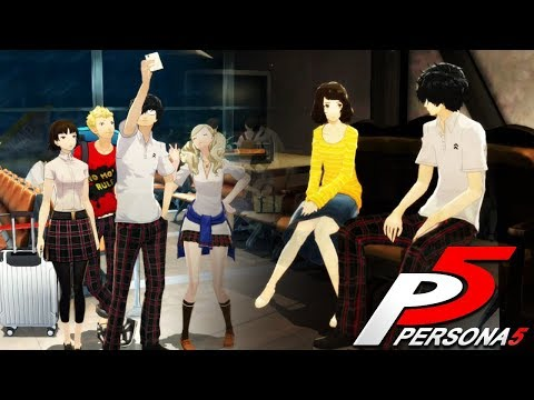 MY FIRST GIRLFRIEND?! & GOING TO HAWAII! | Persona 5 [35]
