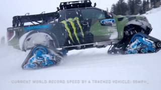 Riding Shotgun with Ken Block in the Ford F-150 RaptorTRAX