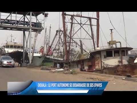 Douala : le Port Autonome se débarrasse de ses épaves