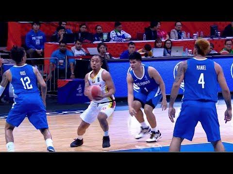 Highlights: Philippines Vs Myanmar   5X5 Basketball M Prelim Round   2019 SEA Games