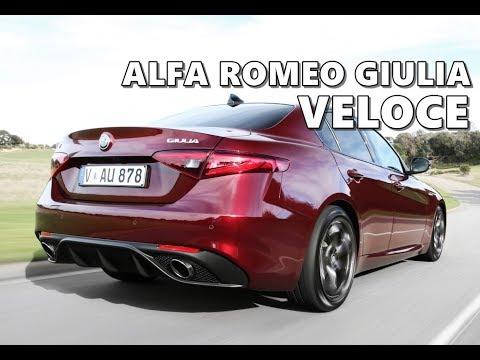 Alfa Romeo Giulia 2017 >> 2017 Alfa Romeo Giulia Veloce Beauty Shots - YouTube
