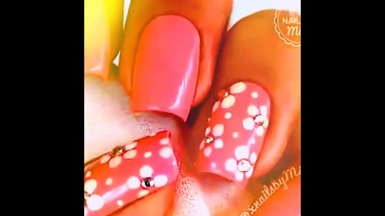 Nail Art Designs Step By At Home Without Tools For Beginners DIY Compliation