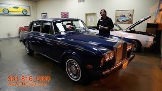 1976 Rolls Royce Silver Shadow Luxury Sedan II for sale with test drive