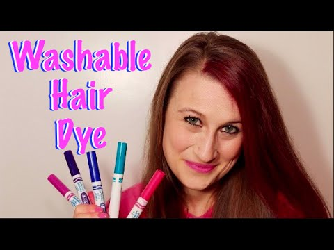 washable hair dye how to make washable hair dye with markers temporary 31752