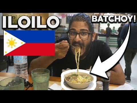 FOREIGNERS FIRST BATCHOY in ILOILO! - Iloilo, Philippines Food and City Tour