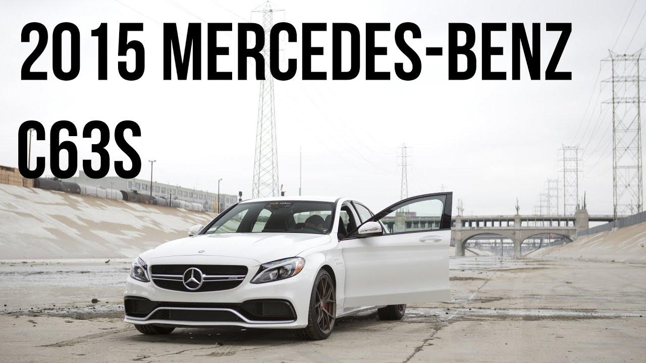 2015 Mercedes Benz C63S AMG Shoot in DTLA! Walkaround ...